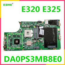 04W1765 For Lenovo E320 E325 Laptop motherboard HM65 DDR3 216-081005 graphics card  DA0PS3MB8E0 motherboard 100% test work