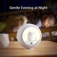 Night-Lamp Led-Movement-Detector Motion-Sensor Usb Rechargeable Kids for Toilet-Lighting