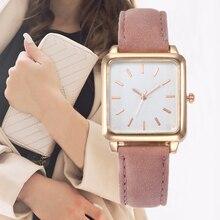 Новые розовые женские часы для часов, модные брендовые Женские кварцевые наручные часы, женские наручные часы с кожаным ремешком, Relogio Feminino