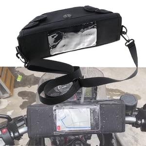 For BMW F750GS F750 F850GS 2018 2019 R1250GS R1200GS ADV F700GS 800GS storage bag waterproof motorcycle handlebar navigation bag(China)