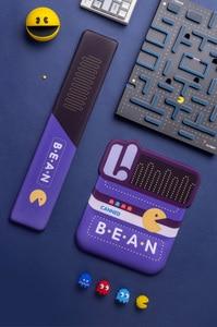 Image 5 - Pacman Design Purple Slow Rebound Memory Foam Hand Wrist Rest Pad Comfortable Soft Non slip Silica Gel Keyboard Tray Hand Rest