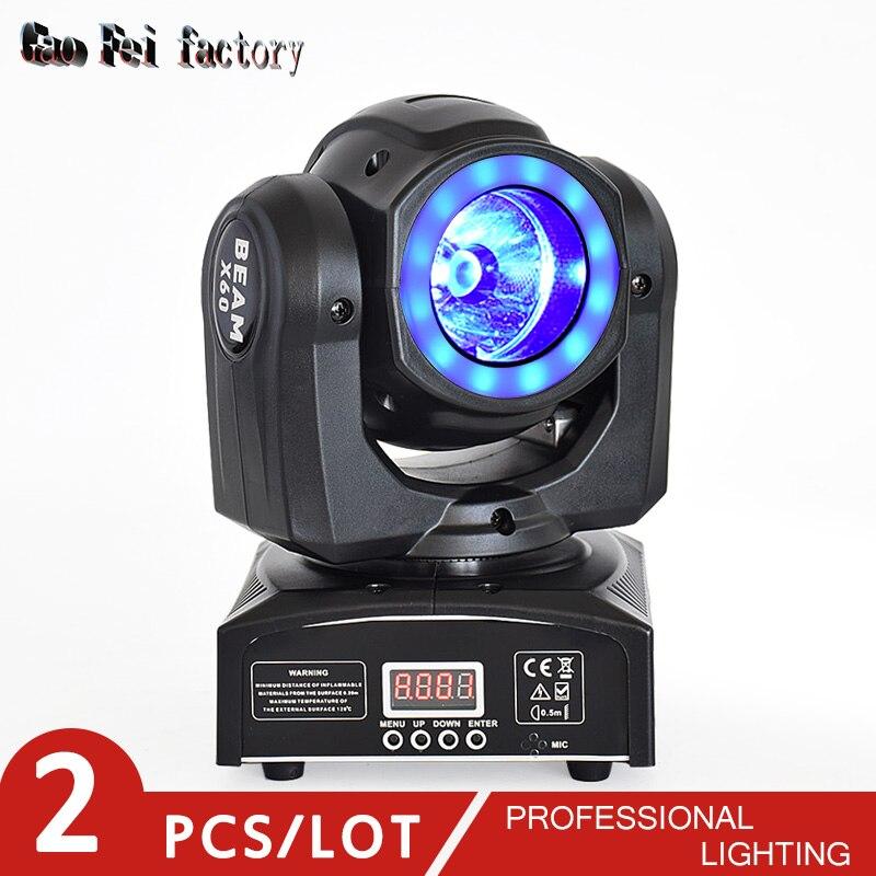 Mini Led Moving Head Dmx Rgbw Led Disco Light 60W Dj Spot Light For Movinghead Beam