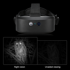 Image 4 - Очки ночного видения, цифровой монокулярный охотничий телескоп с дальним диапазоном ночного видения, инфракрасный прицел для ночной охоты, поиска дикой природы
