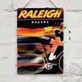 Raleigh Racers Advert Vintage Bike Cycle Team жестяной знак металлический Плакат Металлический Декор настенный знак Настенный декор