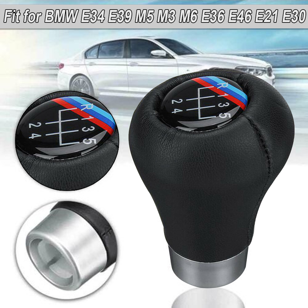 Car Gear Shift Knob Replacement For <font><b>BMW</b></font> E34 E39 M5 M3 M6 E36 E46 <font><b>E21</b></font> E30 image