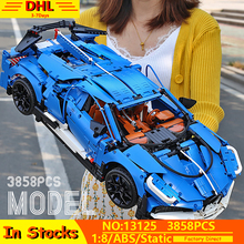 MOC City Technic Series Bugattied Chiron Sport Racing Car Model Kit Building Blocks Bricks Compatible With Lepining 42083 Toys technic series speed koenigseggs racing car model kit building blocks toys for children compatible lepining 23002 bricks gifts