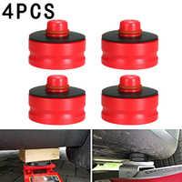 4 sztuk podnośnik punkt Pad Adapter dla Tesla Model 3 chroni akumulator farby boczne spódnice korzystać z 4 na 4 -punkt winda do pojazdów