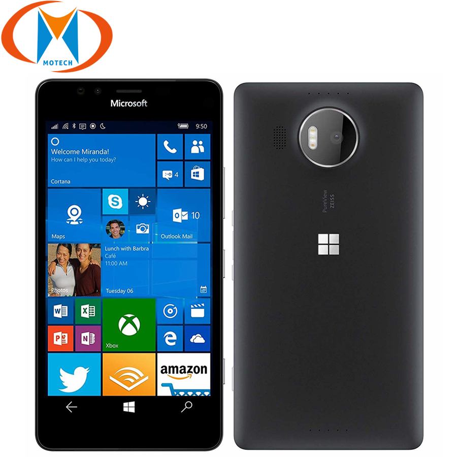 New Global Version <font><b>NOKIA</b></font> Microsoft lumia <font><b>950</b></font> <font><b>XL</b></font> Dual SIM Mobile Phone 3GB RAM 32GB Rm -1116 5.7