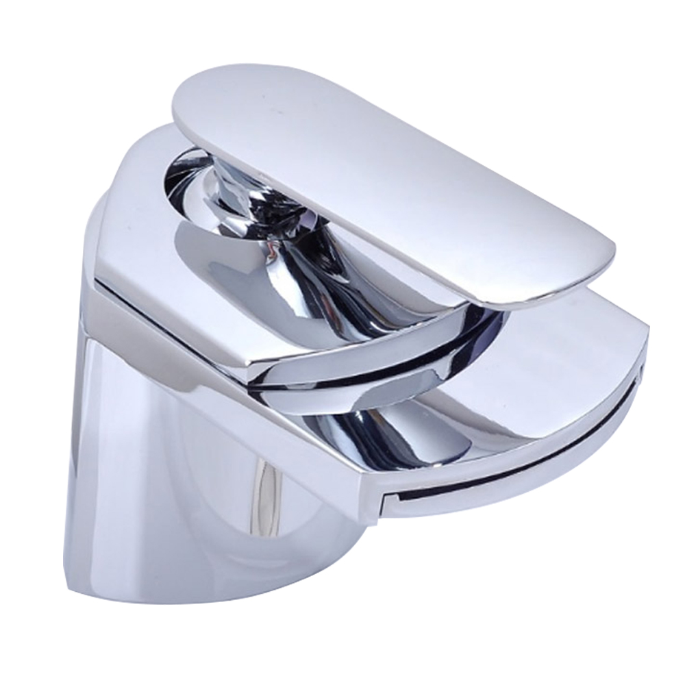 Waterfall Faucets Bathroom Tap Brass Deck Mount Vanity Vessel Sinks Bath Mixer Waterfall Faucet in Basin Faucets from Home Improvement