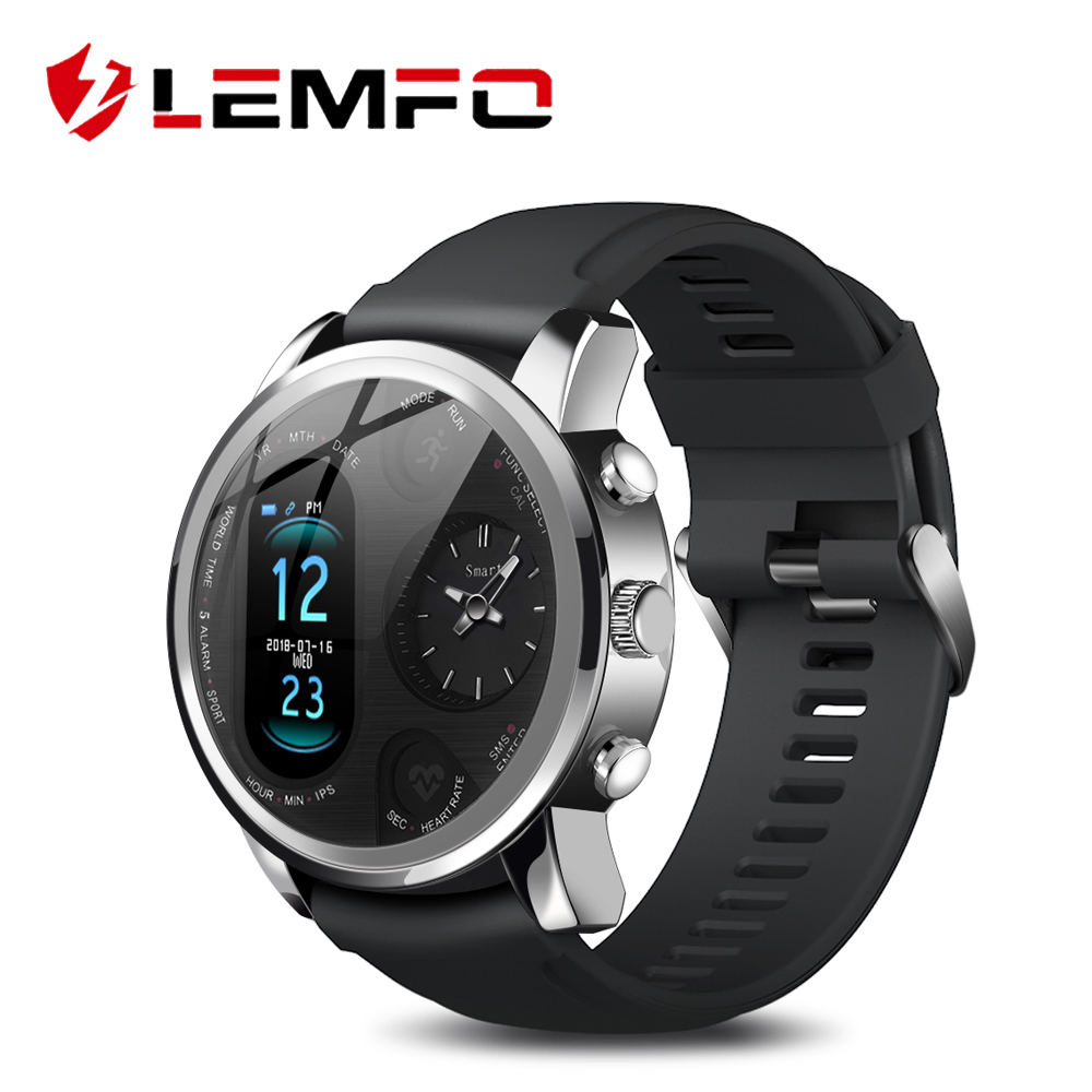 LEMFO Smart Watch Men T3 PRO Dual Time Waterproof IP67 Heart Rate  Bluetooth Activity Tracker Smartwaches Sport  for IOS AndroidSmart  Watches