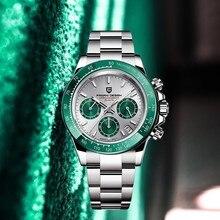 2021 yeni PAGANI tasarım erkek saatler lüks otomatik tarih İzle erkekler kuvars saatler erkekler için Chronograph japonya VK63 Reloj Hombre
