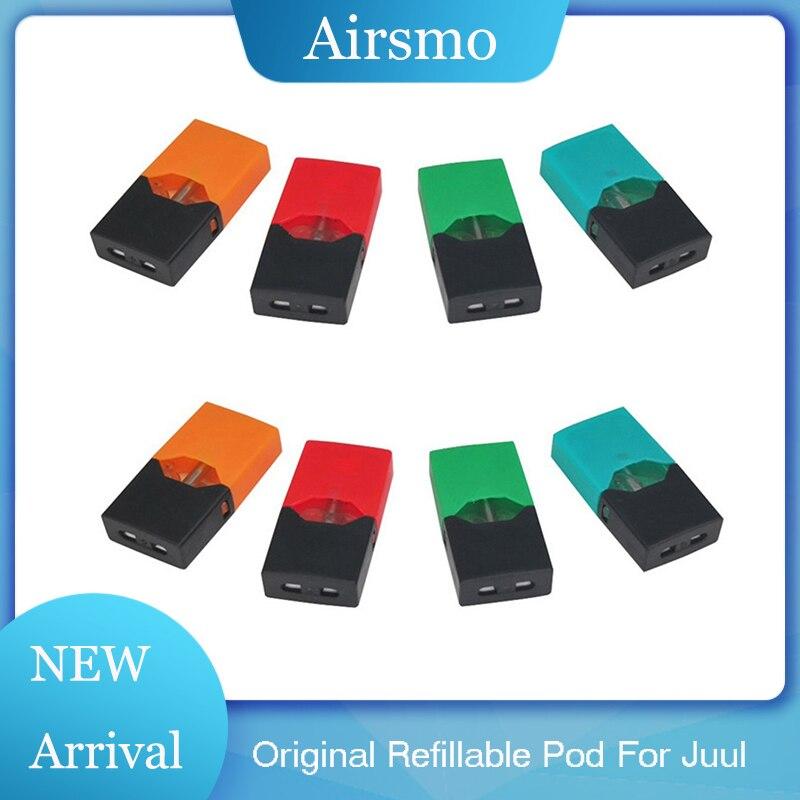 Refill Pods For Juul/BG/Myle Electronic Cigarette Vaporizer 0.8ml Cartridge Spill Resistant Design Vape Pen Atomizer Pods