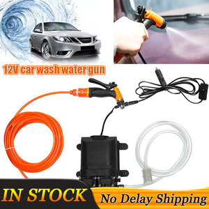 Image 1 - 12V High Pressure Car Washer Gun Pump Car Washer Washing Machine Electric Cleaning Auto Device Double Water Pump Kit