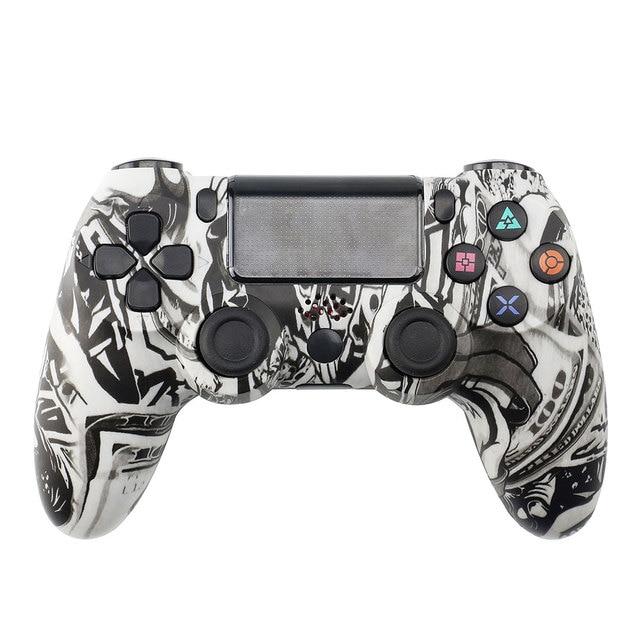 Gamepad sem fio para ps4 colorido lidar com jogo controlador joystick gamepads para playstation 4 ps 4 gaming console joypad controle