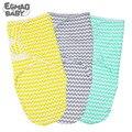 Регулируемое Пеленальное Одеяло для детей от 0 до 6 месяцев лучший подарок для маленьких девочек и мальчиков  красивый дизайн в полоску  пеле...