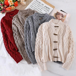 Knitted Cardigans Sw...