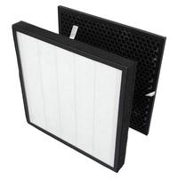 Filtros de substituição verdadeiro hepa e kits de filtro de carvão ativado para acessórios purificador de ar LV PUR131 reduz odores domésticos|Peças de purificador de ar| |  -