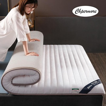 Chpermore Thicken Flannel Mattresses Latex Mattress Memory Foam Slow Rebound Tatami For Family Bedspreads King Queen Full Size