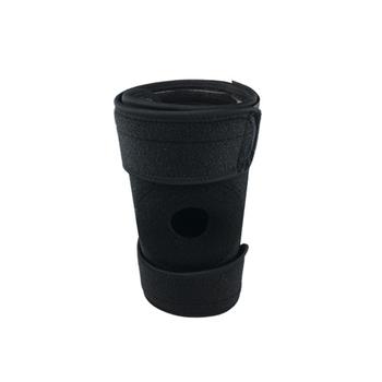 Regulowany oddychający ochraniacz na kolano SBR z 4 ściśniętymi sprężynami stabilizator na otwarte rzepki sportowy ochraniacz kolan tanie i dobre opinie Adult CN (pochodzenie)