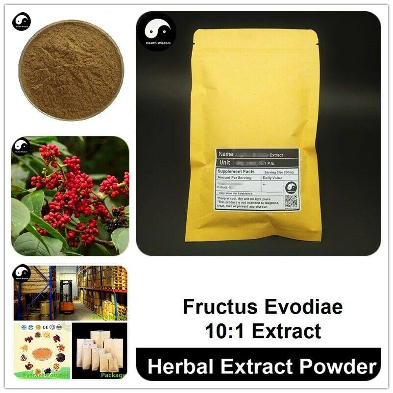 Fructus Evodiae Extract Powder, Euodia Ruticarpa P.E. 10:1, Wu Zhu Yu