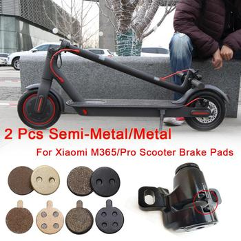2pcs Brake Pads for Xiaomi M365 PRO Electric Scooter Rear Wheel ForMijia Pro Brake Disc Friction Plates Pads Scooter Accessories image