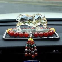 Подарок на день рождения Автомобильный знак зодиака бык украшения