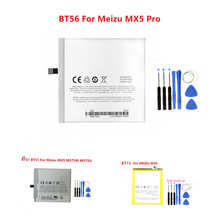 Bt15 BT51 BT56 oryginalny telefon bateria 3150/3450mAh dla MEIZU mx5 M575M M575U MX5pro pro 5 M3S mini Y685Q M688Q M688C M688M