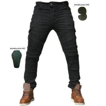 Jean moto Komine pantalons Motocicleta Hombre jean plume Version Standard pantalon de course en voiture pantalon équitation été