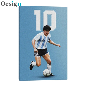 Diego Maradona Hopestyle Art Poster Canvas Wall Art Decoration Prints For Living Kid Children Room Home Bedroom Decor Painting image