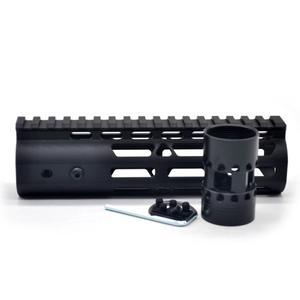Aplus 7 inch inch polegadas m-lok handguard trilho livre flutuador sistema de montagem estilo ultraleve preto anodizado ajuste. 223/5. 56  AR-15 series