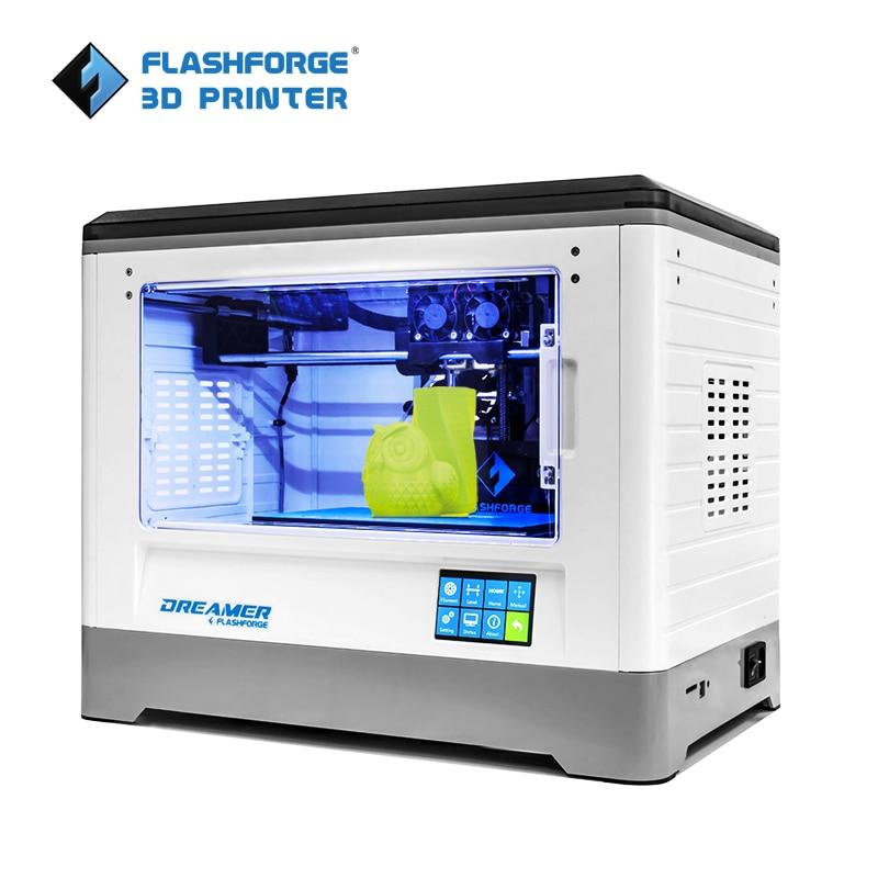 3D-принтер Flashforge Dreamer, экономичная версия, двойной экструдер с 2 катушками