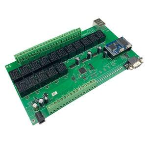 Image 3 - 16 + 8CH 이더넷 PCB 보드 Kincony 스마트 홈 자동화 모듈 컨트롤러 원격 제어 10A 릴레이 DIY 스위치 시스템 Domotica