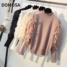 Spring Autumn LooseHalf high neck small fragrant knitwear Pullover Sweater Women Pullover clothes Bottoming shirt women cloak sweater 2019 autumn new loose bat kitted sweater embroidery fashion tops spring leisure women pullover knitwear fc90