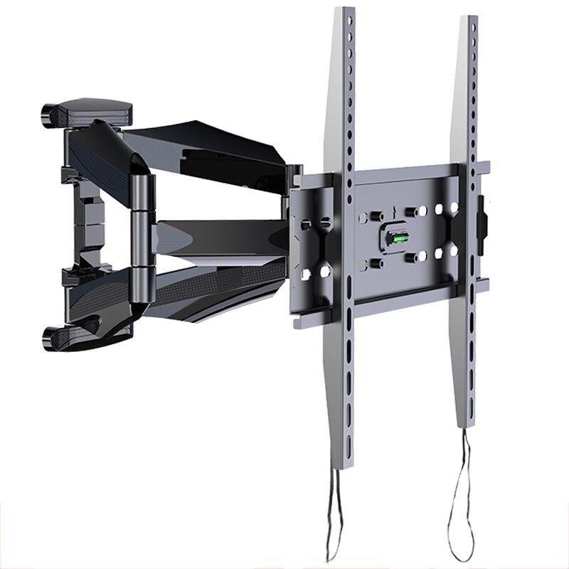 Supports muraux TV support TV pour la plupart des 26-55 pouces écran plat plein mouvement avec pivotant articulé double bras Max VESA 400x400mm
