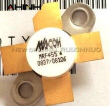 Tubo de alta frecuencia MRF455 MRF 455 módulo de amplificación de potencia 2 unids/lote original nuevo