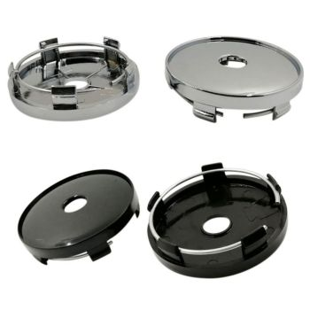 60MM Universal ABS Car Auto Wheel Center Hub Caps Wheel Hub Cover Dust Cover image