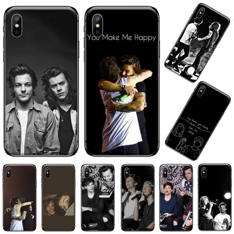 larry stylinson singer DIY Luxury Phone Case For iphone 5 5s 5c se 6 6s 7 8 plus x xs xr 11 pro max