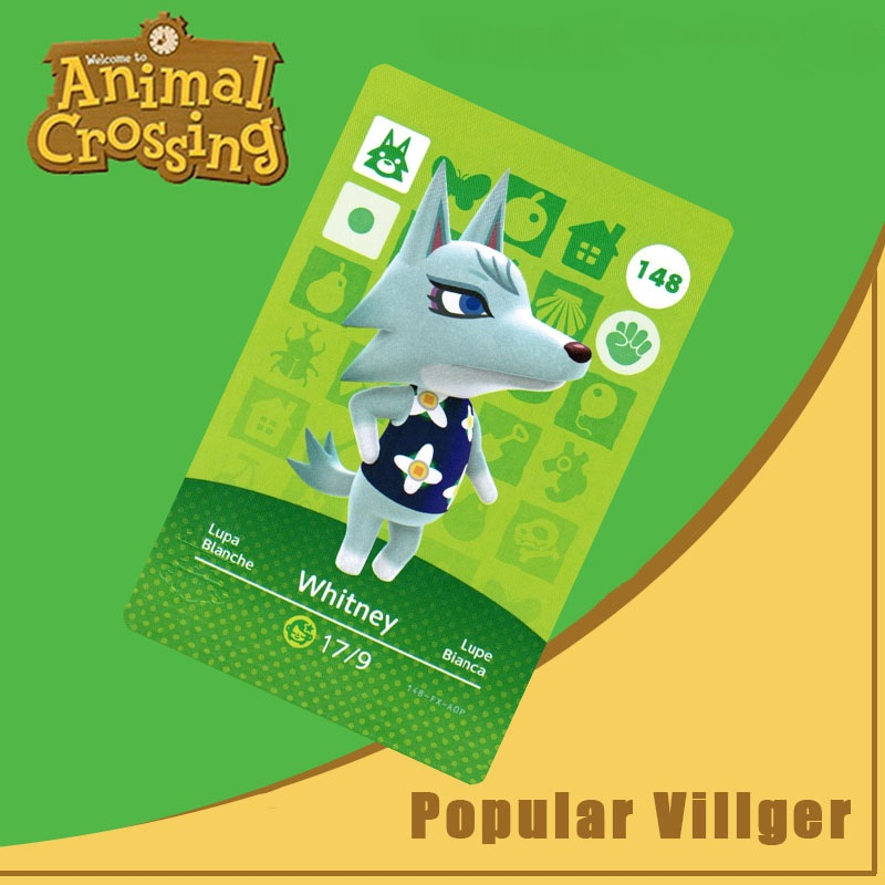 148 Animal Crossing Amiibo Card Whitney Amiibo Card Animal Crossing Series 2 Whitney Nfc Card Work For Ns Games Dropshipping