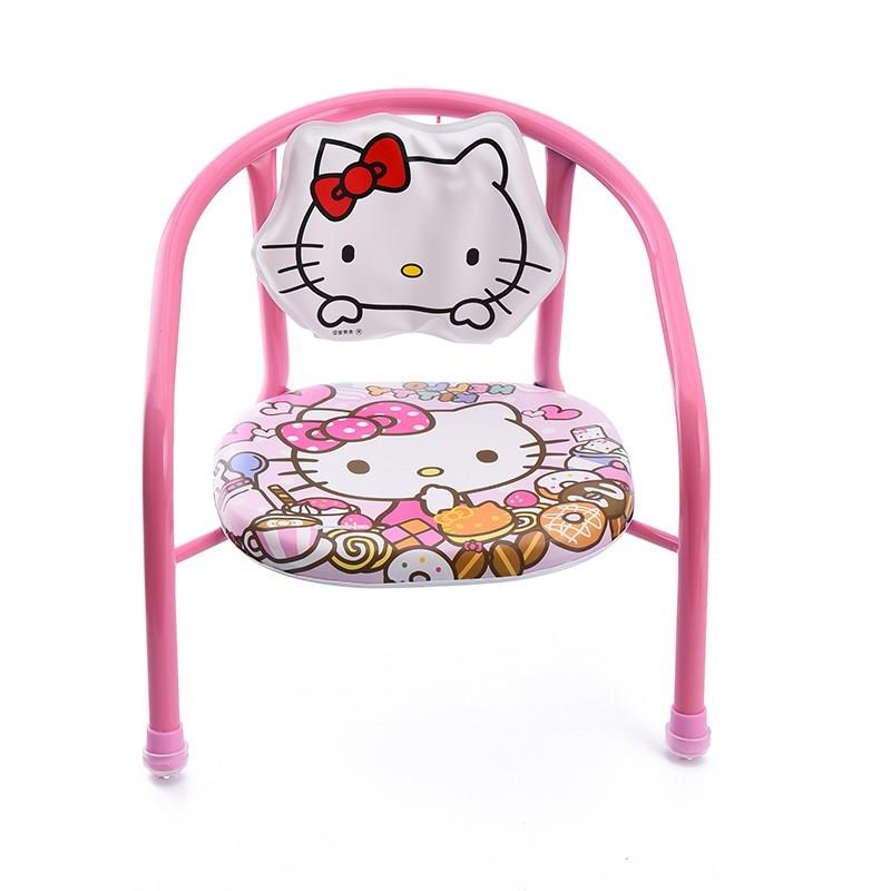Children's Backrest Portable Call Small Chair Bench Eating Stand Cartoon Baby Dinner Chair Children's Chair