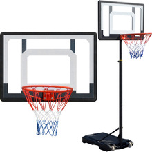 Rack-Basket Hoop Backboard-Gear Basketball-Stand Outdoor Shooting Adjustable Sports Kids