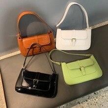 цена на Retro Stone Pattern Women Crossbody Bags Fashion Pu Small Flap Bags Casual Solid Color Hasp Bags Ladies Shoulder Messenger Bag