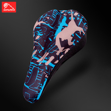 цена на Liquid Gel Bicycle Seat Cushion Bike Thicken Silicone Seat Bicycle Saddle Cover Mat Cycling Accessories MTB Road Bike Seat Cover