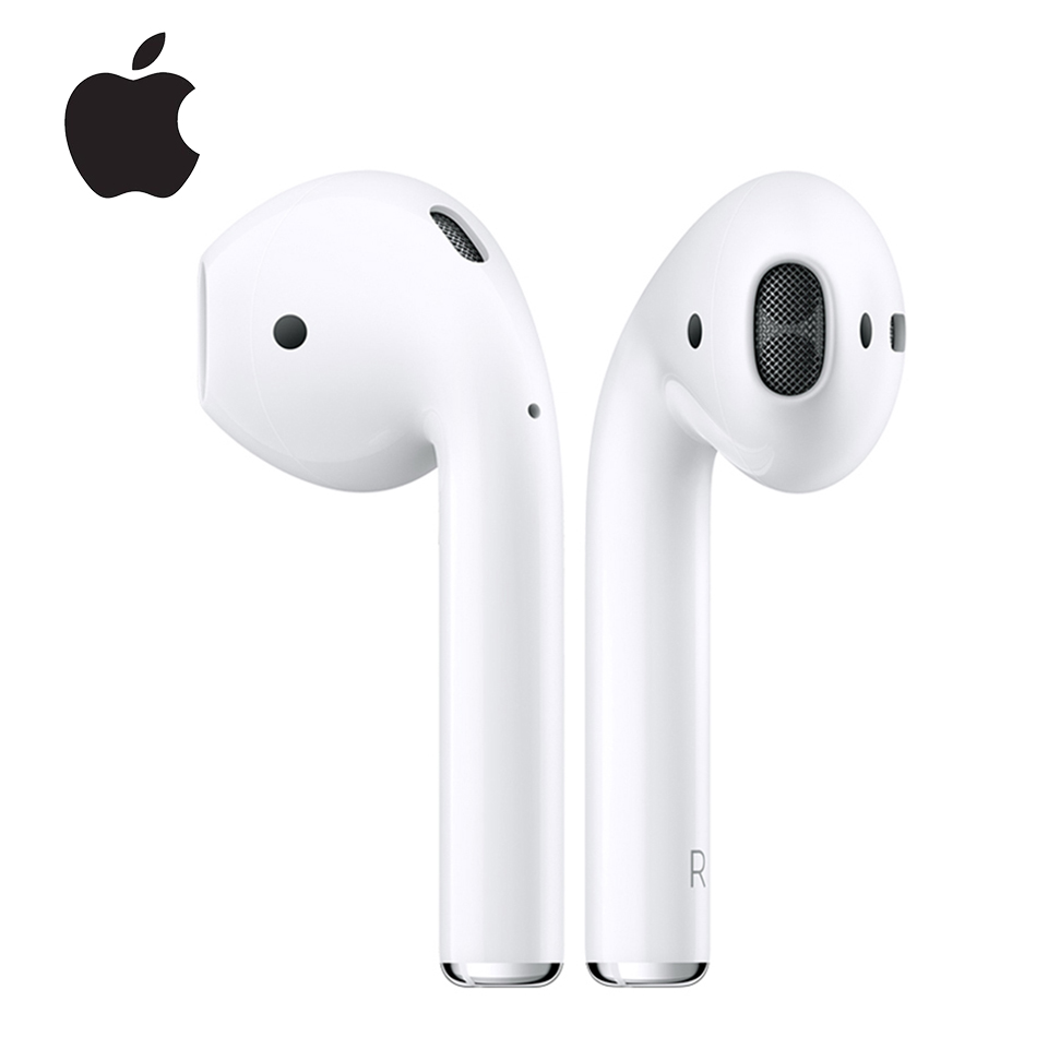 Apple Airpods 1st Original Wireless Bluetooth Earphone Tones Connect Siri with Charging Case for iPhone iPad Mac Apple Watch
