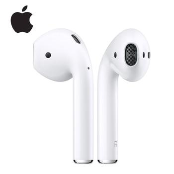 Apple-auriculares Airpods 1st, inalámbricos por Bluetooth, tonos de conexión Siri con funda de carga para iPhone, iPad, Mac y Apple Watch