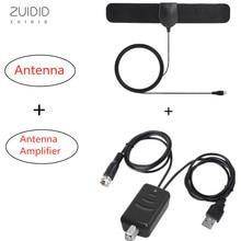 HD для помещений цифровой антенна усилитель комплект высокий усиление 108P низкий шум простота установка сигнал усилитель