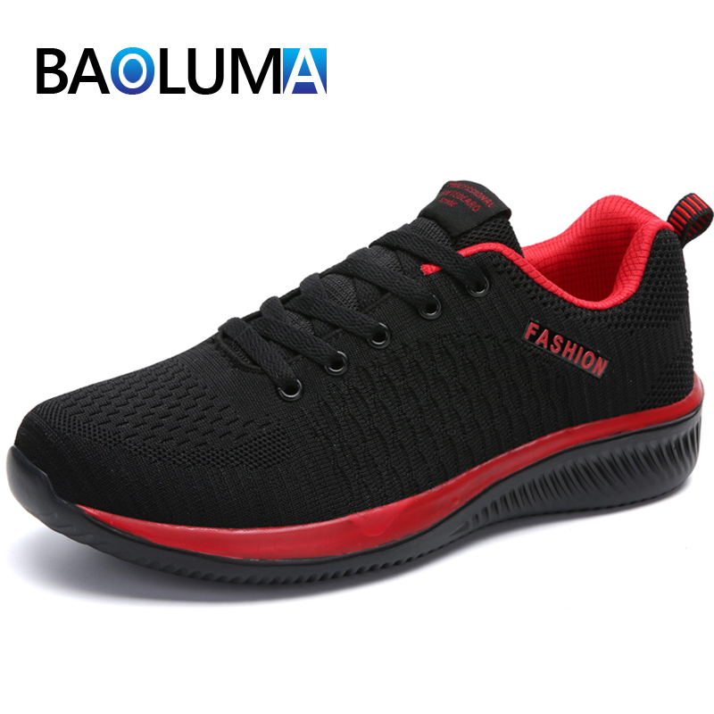 2020 New Lightweight Men's Casual Shoes Mesh Breathable Men Sneakers Summer Comfortable Men's Running Shoes Fashion Moccasins