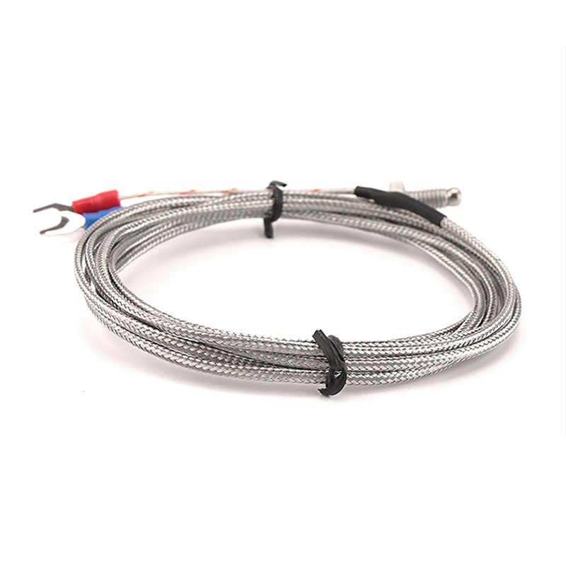 K-Type M6 M8  0-600℃ Thermocouple Control Temperature Controller Sensor Probe