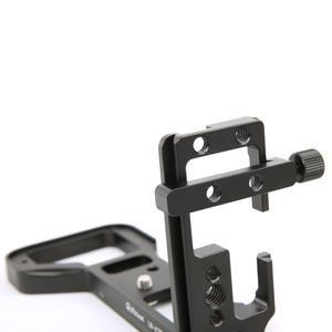Image 2 - DSLR Camera Tripod Quick Release Plate Arca Mini Clamp for L Plate Rail or Arca Plate with 1/4 Screw Hole