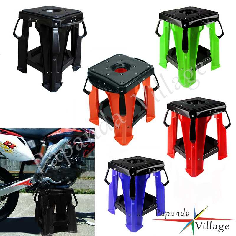 Enjoyable Universal Motorcycle Mx Enduro Folding Step Stool Dirt Bike Short Links Chair Design For Home Short Linksinfo