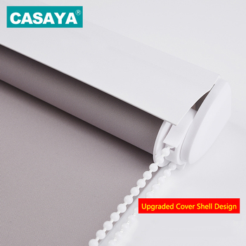 Dust Cover Design Window Blinds Drilling system or No Drill system Blackout Roller Blinds Curtains Half shade / Full shade